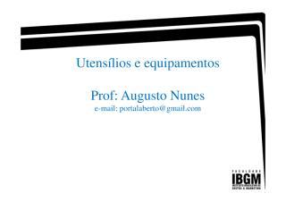 Aula 1- Utensílios e equipamentos [Modo de Compatibilidade].pdf