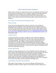 Why Carpet Cleaning Is Important.pdf