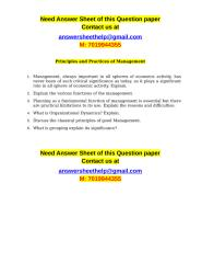 Discuss the classical principles of good Management.doc