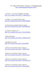 131 vídeos de Filosofia e Teologia - ContraImpugnantes.pdf