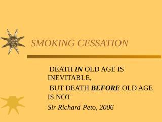 SMOKING CESSATION.ppt