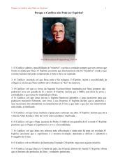 Porque o Católico não Pode ser Espírita (pergunta) - Frei Boaventura Kloppenburg.pdf