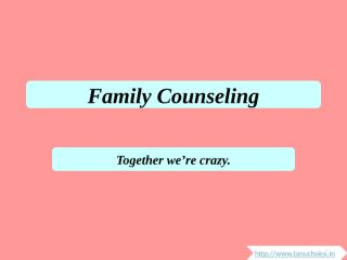 Family Counseling.pptx